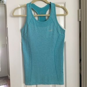 NIKE turquoise tank top.  Beautiful color & detail